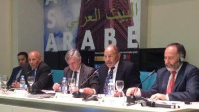 صورة المدير التنفيذي يحاضر في بيت العرب عن التطرف العنيف