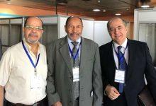 صورة مدير المعهد يشارك في المنتدى الثالث لمراكز التفكير المتوسطي